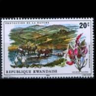 RWANDA 1975 - Scott# 685 Fauna and FLower 20c MNH (XJ489)