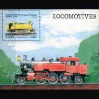 SOMALIA 1999 - S/S Train MNH (XO814) - Somalia (1960-...)