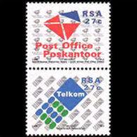 SOUTH AFRICA 1991 - Scott# 808-9 Post Office Ltd. Set Of 2 MNH (XT282) - Südafrika (1961-...)