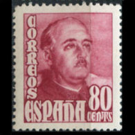 SPAIN 1954 - Scott# 803 Gen.Frabco 80c MNH (XO059) - 1951-60 Nuovi