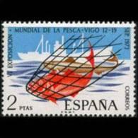 SPAIN 1973 - Scott# 1771 Fishing Set Of 1 MNH (XK284) - 1931-Oggi: 2. Rep. - ... Juan Carlos I