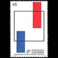 SPAIN 1989 - Scott# 2593 French Revolution Set Of 1 MNH (XV415) - 1981-90 Unused Stamps