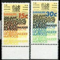 SURINAM 1974 - Scott# 415-6 Newspapers Set of 2 MNH (XS204)