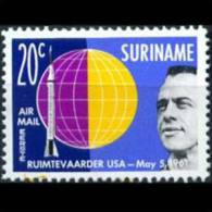 SURINAM 1961 - Scott# C29 US Astronauts 20c MNH (XH381)