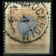 SWEDEN 1872 - Scott# 27a Coat Of Arms 1r Used (XB237) - Suède