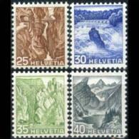 SWITZERLAND 1936 - Scott# 233-6 Views 25-40c MNH (XL863) - Svizzera