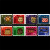 TOKELAU 1971 - Scott# 25-32 Native Handicrafts Set of 8 MNH (XT581)