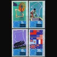 TOKELAU 1972 - Scott# 33-6 SPC-Windmill etc. Set of 4 MNH (XT591)