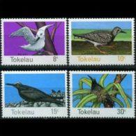 TOKELAU 1977 - Scott# 57-60 Birds Set of 4 MNH (XM494)