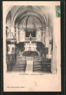 CPA Potelières, Intérieur De L'eglise - Sin Clasificación