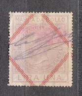 ITALIE FISCAL UNA LIRA  /664 - Italia