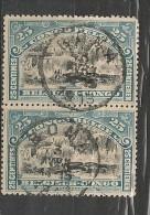 CONGO Nr 57 Cote 1.00 T14 Paire - 1894-1923 Mols: Oblitérés