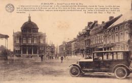 SAINT-GHISLAIN : La Grand'place Et L'hôtel De Ville - Saint-Ghislain