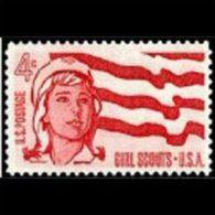 U.S.A. 1962 - Scott# 1199 Girl Scout Set Of 1 MNH (XK256) - United States