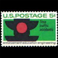 U.S.A. 1965 - Scott# 1272 Traffic Safety Set Of 1 MNH (XJ386) - United States