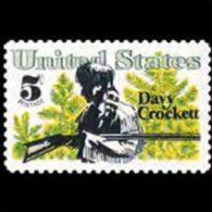 U.S.A. 1967 - Scott# 1330 Davy Crockett Set Of 1 MNH (XK068) - United States