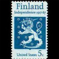 U.S.A. 1967 - Scott# 1334 Finish Independence Set Of 1 MNH (XK080) - United States