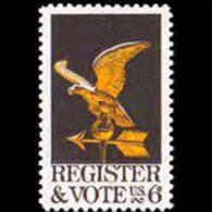 U.S.A. 1968 - Scott# 1344 Register And Vote Set Of 1 MNH (XK215) - United States