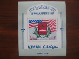 Ajman 1967 MNH  BL 15