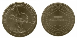Jeton Monnaie De Paris 2010 49 SAUMUR LE CADRE NOIR DU SAUMUR LA CABRIOLE FR49-0995 - 2010