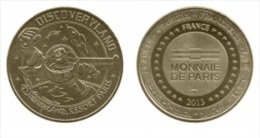 Jeton Monnaie De Paris 2013 77 MARNE-LA-VALLEE - DISNEYLAND RESORT PARIS DISCOVERYLAND - BUZZ LIGHTYEAR FR77-0706 - Monnaie De Paris