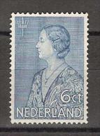 NVPH Nederland Netherlands Pays Bas Niederlande Holanda 266 MLH ; Crisiszegel 1934 - Periode 1891-1948 (Wilhelmina)