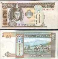 Mongolia 50 Tugrik 2000 Pick 64 UNC - Mongolia