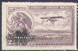 2560 Fauna Arms Birds Aviation Airs Optd 1932 Mexico 1v MNH ** - Airships
