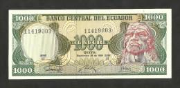 [NC] ECUADOR - BANCO CENTRAL Del ECUADOR - 1000 SUCRES (1986) - Ecuador