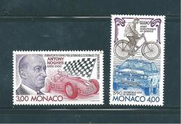 Monaco Timbres De 1990  Neufs** N°1716  Et N°1717 - Monaco
