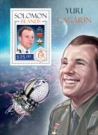 Solomon Islands. 2014  Yuri Gagarin. (216b) - Space