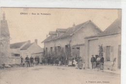 CPA 77 Episy - Rue De Nemours - Other Municipalities