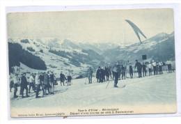 Postal Wintersport - Francia