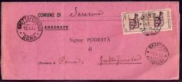 F3428  - PIEGO LUOGOTENENZA - 5. 1944-46 Lieutenance & Humberto II