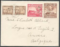 Enveloppe De LA VALETTE MALTA Vers Anvers - 10086 - Malte