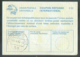 Coupon-Réponse International UPU De WUPPERTAL 20-6-1983 - 10095 - Briefe U. Dokumente