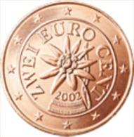 Oostenrijk 2013     2 Cent      UNC Uit De Rol  UNC Du Rouleaux  !! - Autriche