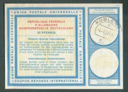 Coupon-Réponse D'Allemagne Fédérale UPU De KOBLENTZ 4-4-67 - 10096 - Briefe U. Dokumente