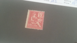 LOT 214948 TIMBRE DE FRANCE NEUF** N�116 VALEUR 175 EUROS