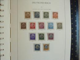 III Reich splendide album presque complet 1933 - 1945 neuf et oblit�r�s