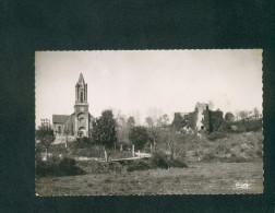 CPSM - PF - Betaille (46) - Eglise - Vieux Chateau ( COMBIER CIM) - Autres Communes