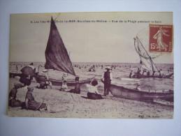 (13 ) Bouches Du Rhône:Vue De La Plage Pendant Le Bain - Saintes Maries De La Mer