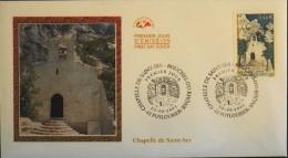 ENVELOPPE 1er JOUR 2002 - Chapelle De St-Ser - Puyloubier Le 22.06.2002 - EN PARFAIT ETAT - - 2000-2009