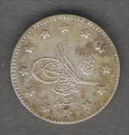 TURCHIA KURUSH 1903 AG SILVER - Turchia