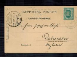 San Marino - Cartolina Illustrata Con 5 Cent. Verde - Lettres & Documents