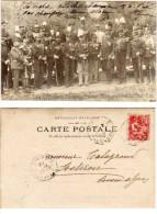 Les Officiers Etrangers Aux Manoeuvres Du Sud Est    (70014) - Characters