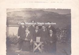 PHOTO 11.5 X 9 1926 DOUVAINE ECOLE E.N BONNEVILLE 663 - Personnes Identifiées