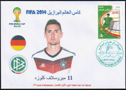 ALGERIE ALGERIA ALGERIEN ARGELIA - 2014 - BRAZIL FIFA World Cup Football - GERMANY  Miroslav KLOSE - Coppa Del Mondo