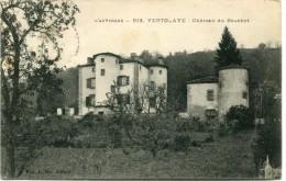 CPA 63 VERTOLAYE CHATEAU DU BOUCHET - France