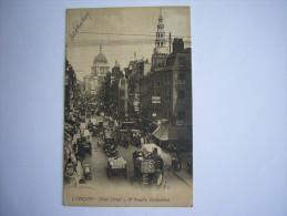 London  :Fleet Street Et St Paul's Cathedral - London